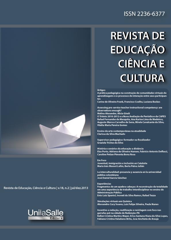 Revista Educação, Ciência e Cultura