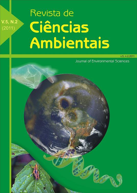 RCA - Revista de Ciências Ambientais